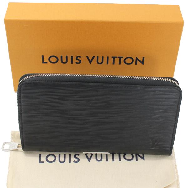 ルイヴィトン ジッピーオーガナイザー 長財布 エピ 黒 ブラック ラウンドファスナー メンズ M60632 箱・布袋 未使用 LOUIS VUITTON 【中古】