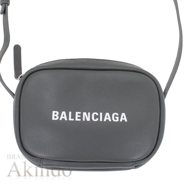バレンシアガ ショルダーバッグ エブリデイ カメラバッグ XS クロスボディ 489809 グレー BALENCIAGA 未使用