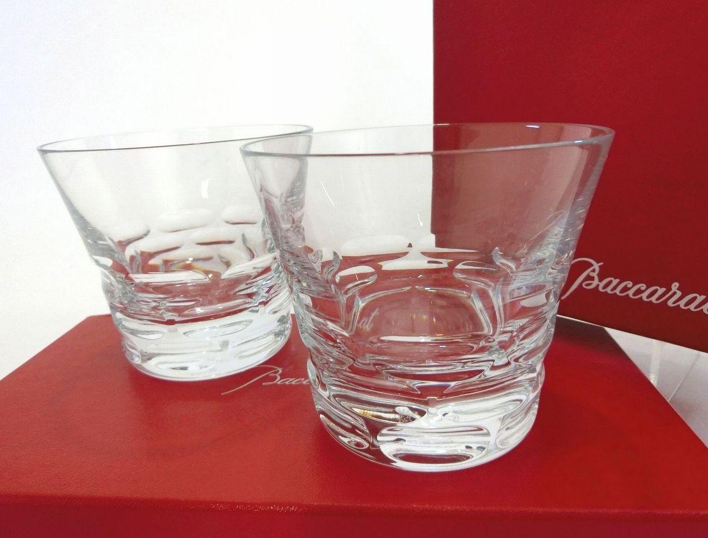 Baccarat・バカラ ペアタンブラーグラス ロックグラス ルチア 2017 イヤーグラス クリスタルグラス ブランド食器 未使用品 18-C090