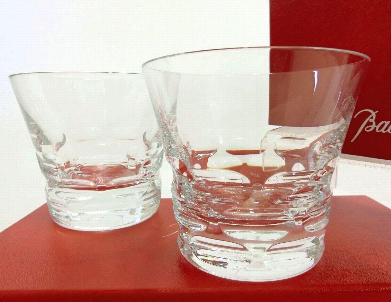 Baccarat・バカラ ペアタンブラーグラス ロックグラス ルチア 2017 イヤーグラス クリスタルグラス おしゃれ 高級ブランド食器 未使用品 送料無料 19-C035