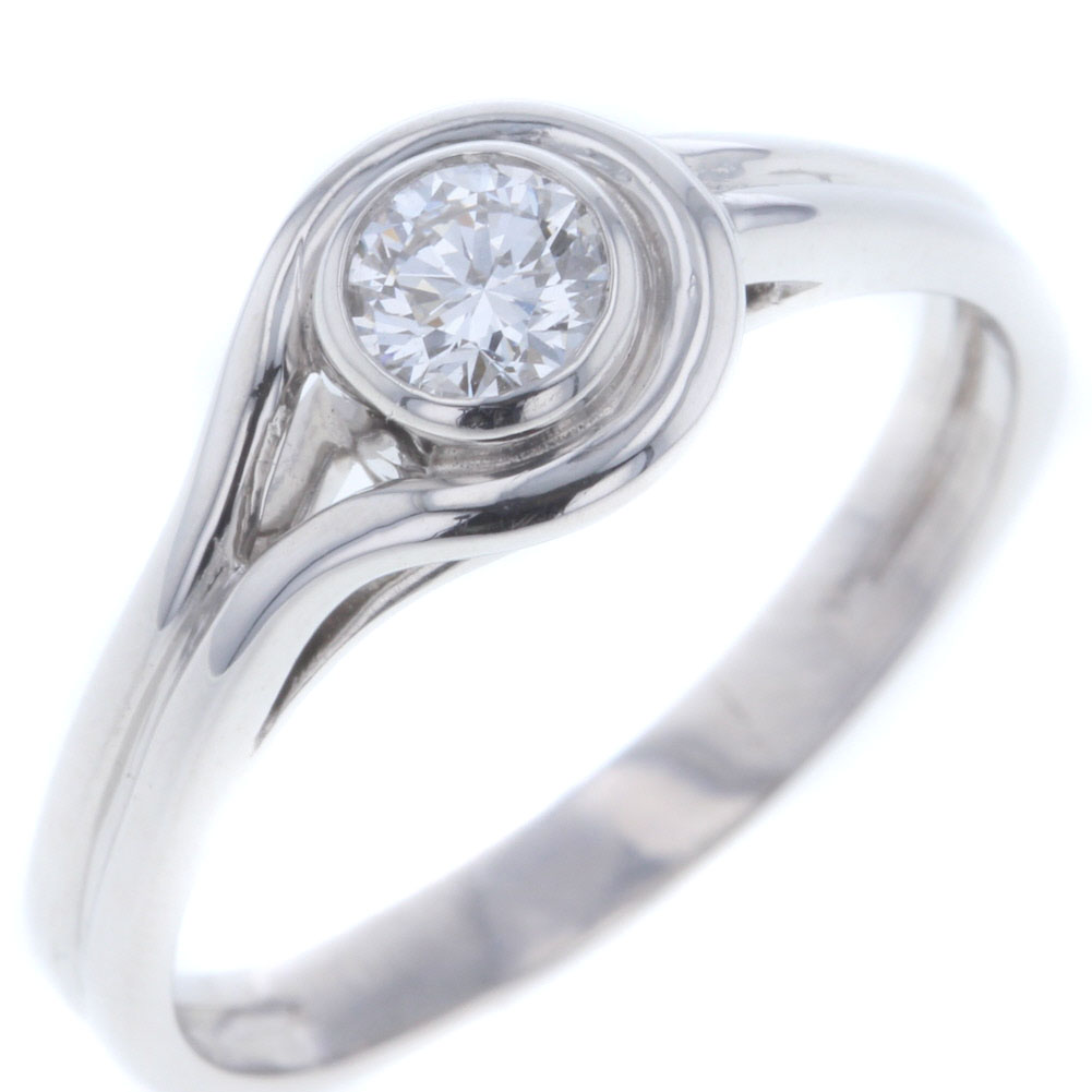 ショーメ リング 指輪 プラチナ PT950 ダイヤモンド0.50ct 17号 レディース Chaumet 【中古】R80410006 【PD3】