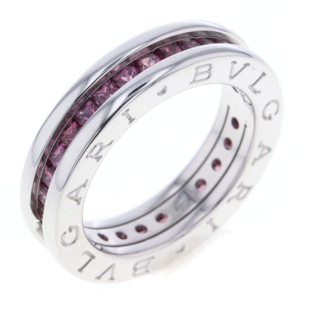 緊急値下げ!ブルガリ ビーゼロワン XS ガーネット リング 指輪 ガーネット 750 レディース BVLGARI【中古】K80131173 【PD3】
