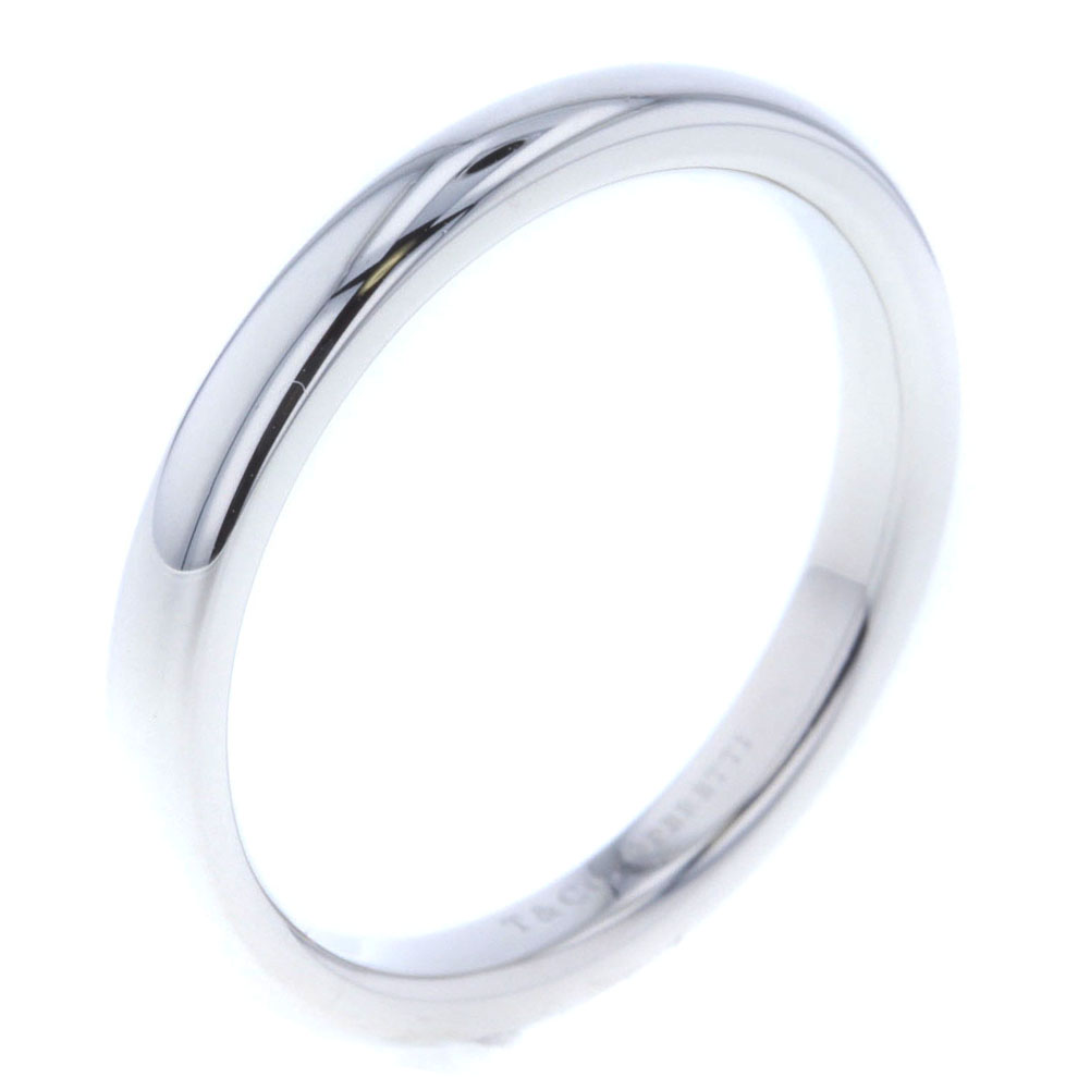 緊急値下げ!ティファニー エルサペレッティ ウェディング リング 指輪 プラチナPT950 レディース TIFFANY&Co.【中古】K80314406 【PD3】