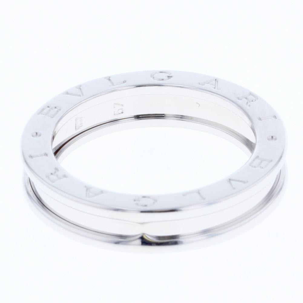 a64effd1ce24 ブルガリ ビーゼロワン 1バンド XSサイズ リング 指輪 K18ホワイトゴールド メンズ BVLGARI 【中古】 K80613027 【PD1】  17号-指輪・リング