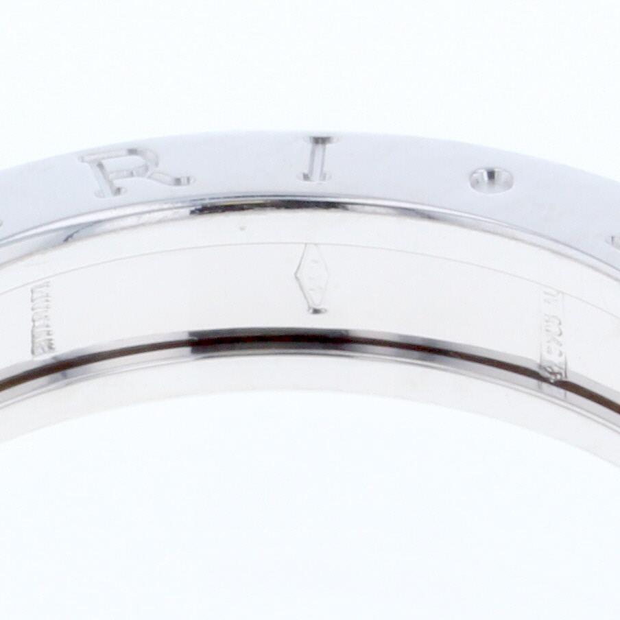 b8dbc36c9894 ブルガリ ビーゼロワン 1バンド XSサイズ リング 指輪 K18ホワイト ...