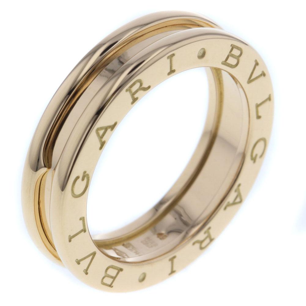 cddd052e46d1 ブルガリ ビーゼロワン 1バンド XS リング 指輪 K18イエローゴールド 9号 レディース BVLGARI ...