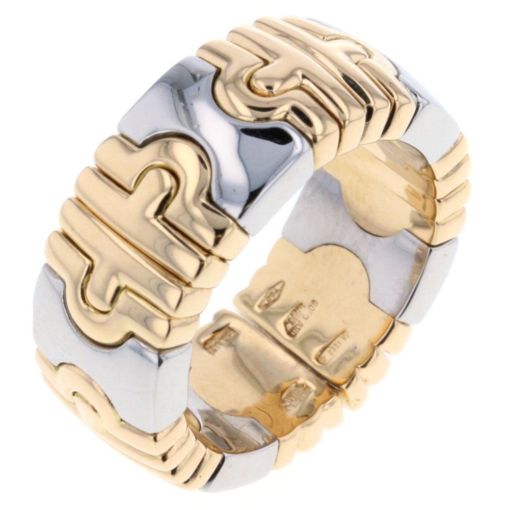 ブルガリ パレンテシ 11.5号 リング 指輪 K18イエローゴールド SS ゴールド レディース BVLGARI 【中古】K80822729