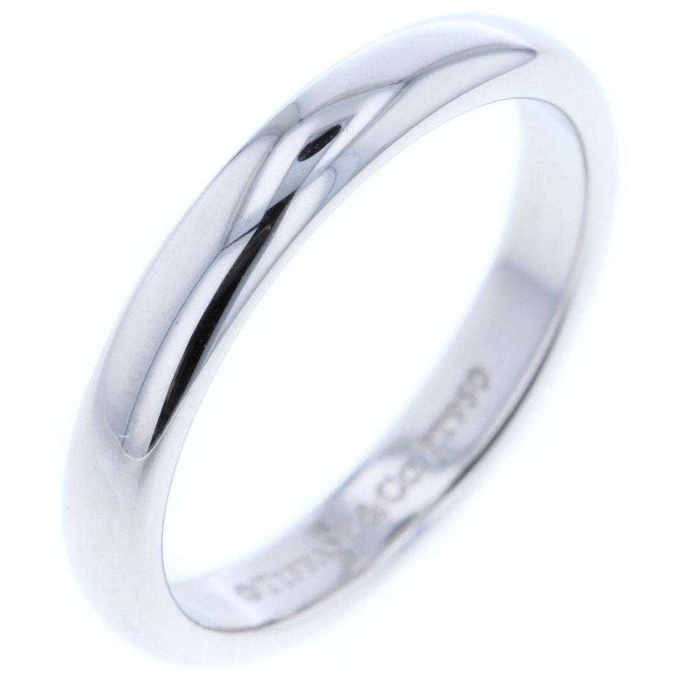 ティファニー ウェディング ルシダバンド リング 指輪 プラチナPT950 9号 レディース TIFFANY&Co. 【中古】 K80923992