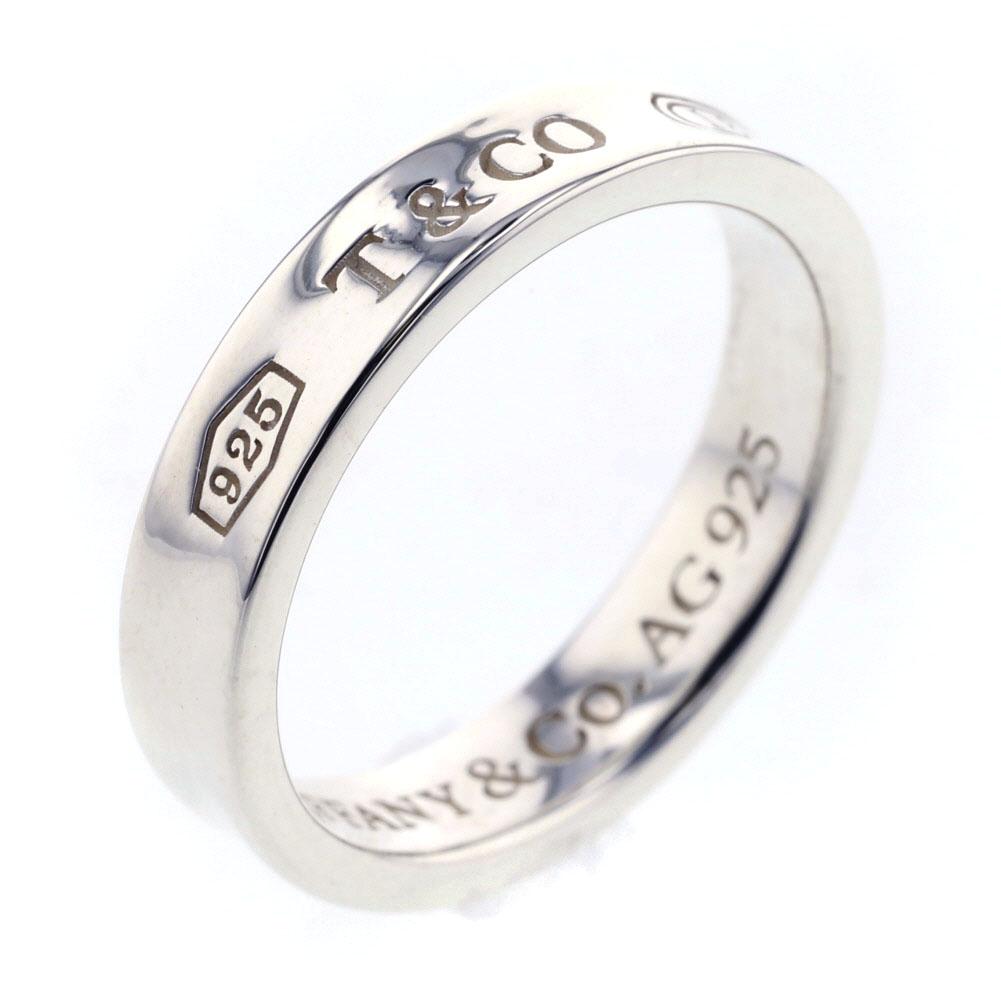 ティファニー 1837 ナロー リング 指輪 シルバー925 9.5号 レディース TIFFANY&Co. 【中古】 K81127823