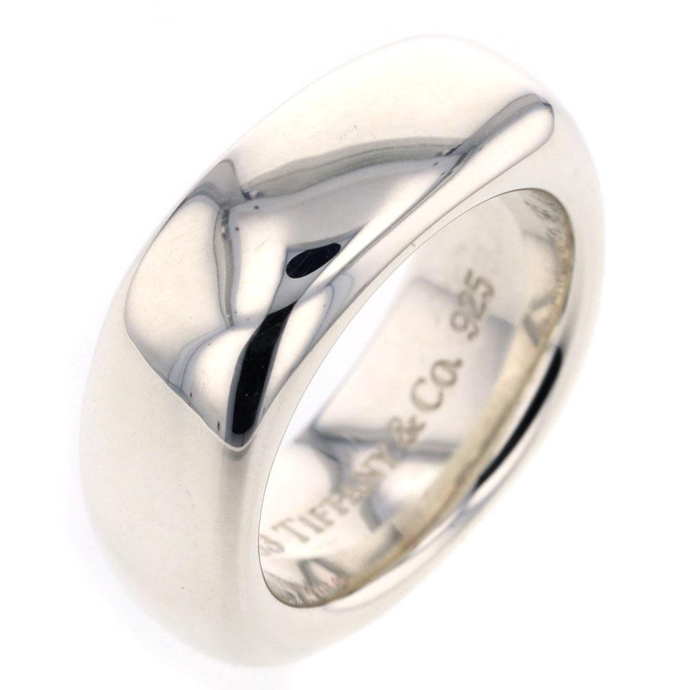 ティファニー スクエア リング 指輪 シルバー925 7号 レディース TIFFANY&Co.【中古】K81223259