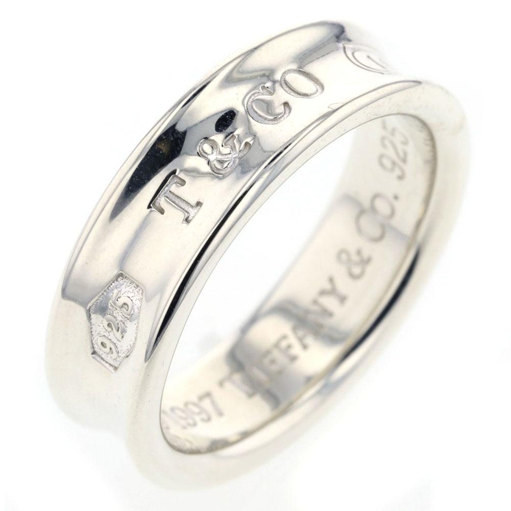 ティファニー 1837 リング 指輪 SV925 シルバー 19.5号 メンズ TIFFANY&Co. 【中古】K81223268