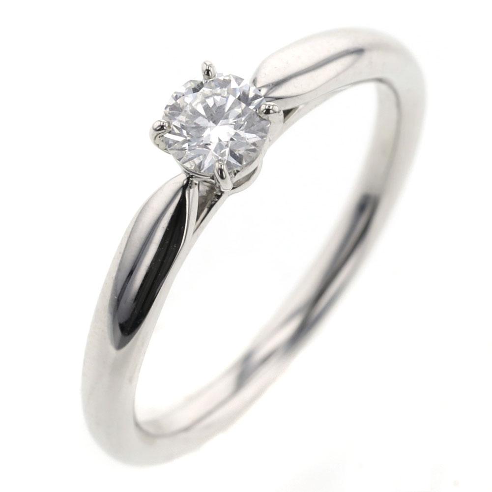 ニワカ ことのは KOTONOHA ダイヤモンド0.23ct リング 指輪 プラチナPT950 9号 レディース NIWAKA 【中古】 K90723957 【PD2】