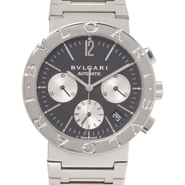 ブルガリ ブルガルブルガリ クロノグラフ BB38SSCH メンズ 自動巻 時計 :バースデー