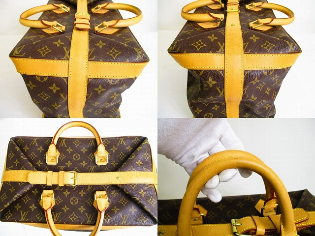 f5dd160316d1 LOUIS VUITTON ルイヴィトン モノグラム クルーザーバッグ 40 旅行カバン ...