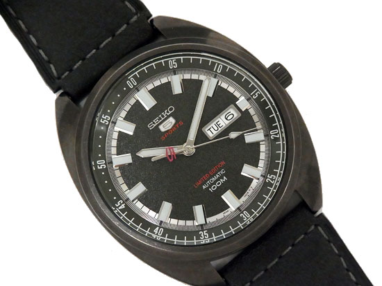 【送料無料・代引き手数料無料】【美品】 セイコー SEIKO SEIKO 5 SPORTS SRPB73K1 タートル 【中古】 自動巻き メカニカル 腕時計