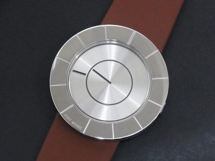 【送料・代引き手数料無料】【未使用 S品】【訳あり特価♪】 ISSEY MIYAKE イッセイミヤケ ティーオー SILAN008 吉岡徳仁 デザイン メンズ 時計