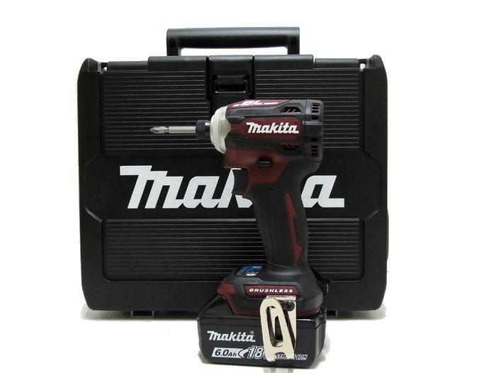 【送料・代引き手数料無料】【未使用 新品】【在庫1点大特価♪】 マキタ makita 充電式インパクトドライバ TD171DGXAR オーセンティックレッド リチウムイオンバッテリ 18V 6.0Ah 楽らく4モード