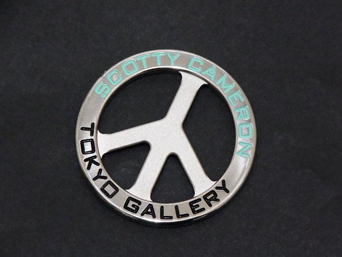 【送料・代引き手数料無料】【未使用 S品】【希少品】 SCOTTY CAMERON スコッティキャメロン 2019 TOKYO GALLERY Coin Ball Marker ピース&パーズ ボールマーカー