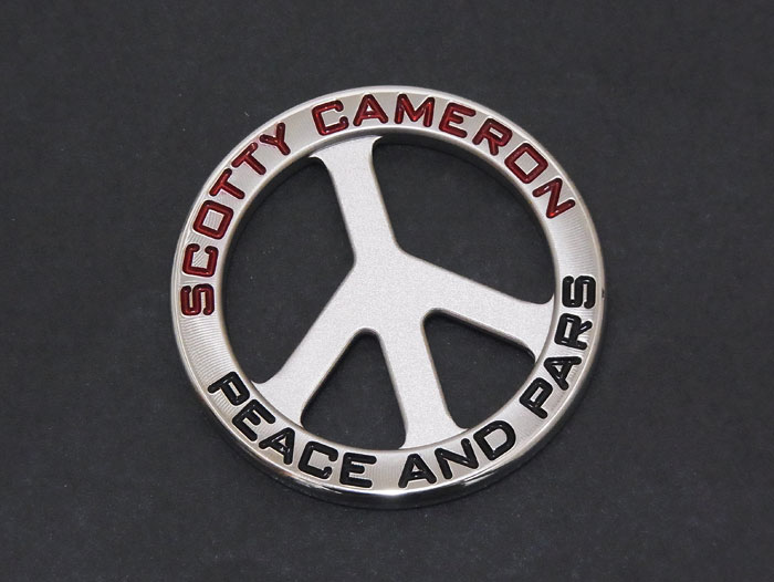【送料・代引き手数料無料】【未使用 S品】【希少品】 SCOTTY CAMERON スコッティキャメロン 2019 PEACE&PARS Coin Ball Marker ピース&パーズ ボールマーカー