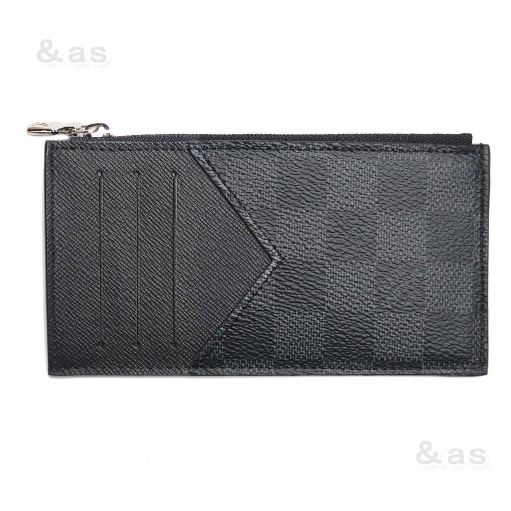 【新品】 ルイヴィトン ダミエグラフィット コインカード・ホルダー/薄型財布 N64038 LOUIS VUITTON