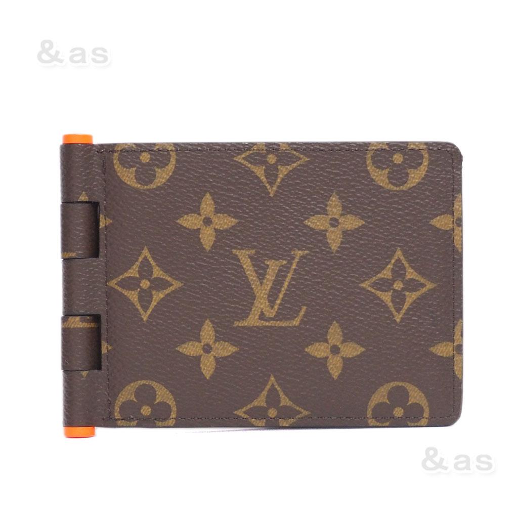 【新品】 ルイヴィトン 財布 M67450 モノグラムソーラーレイ ポルトフォイユ・ミュルティプル ヒンジ/お札入れ LOUIS VUITTON