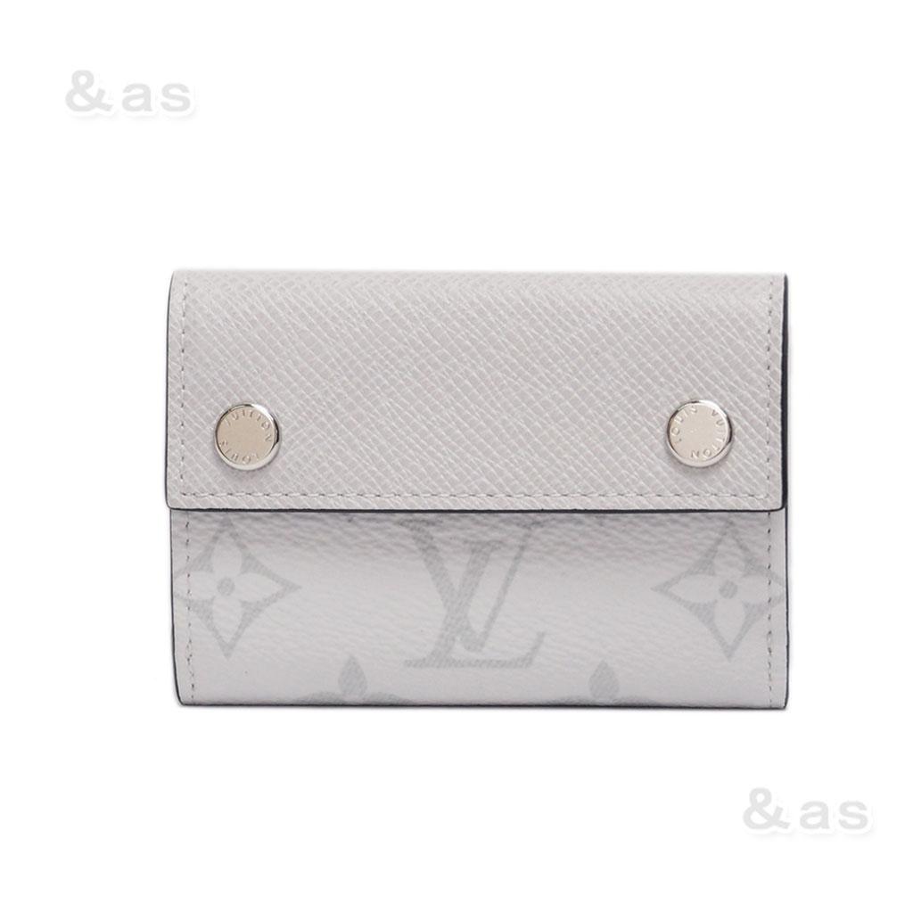 【新品】 ルイヴィトン 財布 タイガラマ ディスカバリー コンパクトウォレット M67621 ブロン LOUIS VUITTON