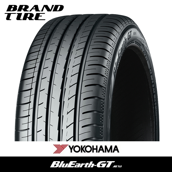 取付対象 YOKOHAMA 毎日激安特売で 営業中です 割引も実施中 ヨコハマ BluEarth ブルーアース GT AE51 XL 225 55R16 タイヤのみ 99W 1本価格