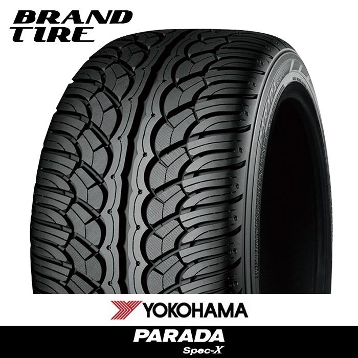 2本セット YOKOHAMA 美品 ヨコハマ PARADA Spec-X パラダ スペックX RFD タイヤのみ 送料無料 255 45R20 新商品!新型 105V