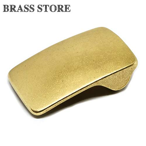 BRASS STORE ブラスストア 5%OFF 真鍮 レザーベルト用 バックル ピンバックル メンズ ソリッドブラス 輸入 アメカジ ベルト幅40mm ギャリソンベルト 尾錠 ハーネスベルト