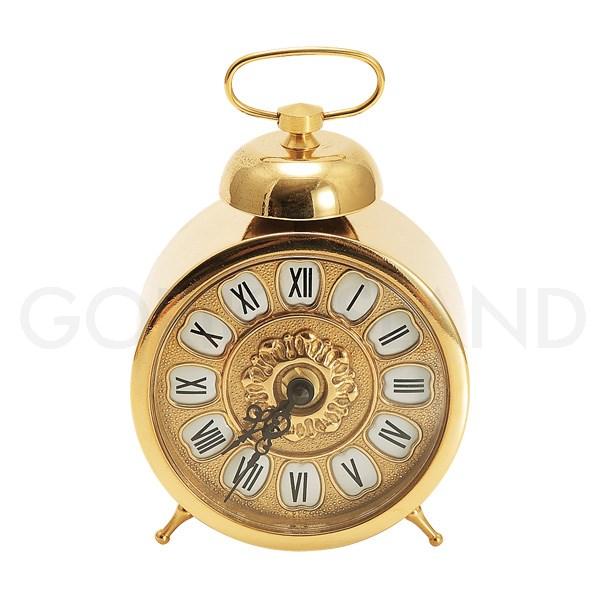 【送料無料】真鍮 置時計