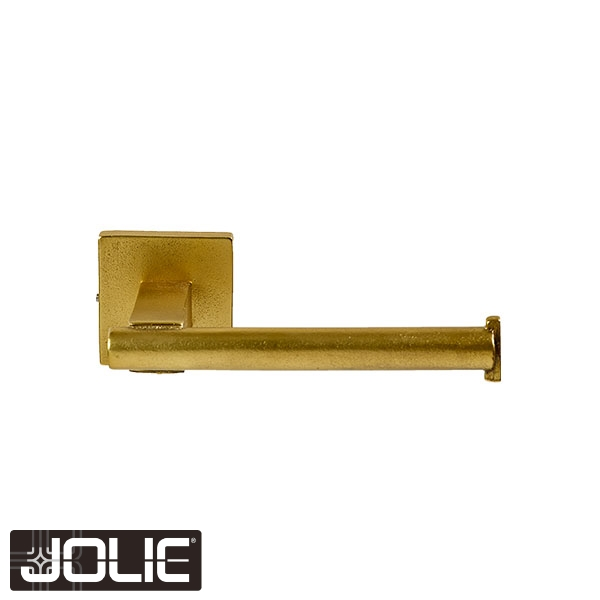 TOILET ROLL HOLDER CORE HORIZONTAL VERTICAL AGED GOLD