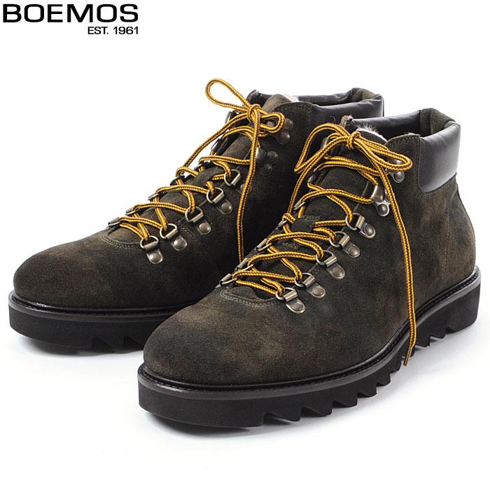 ボエモス BOEMOS マウンテンブーツ メンズ カモフラ I5-4394