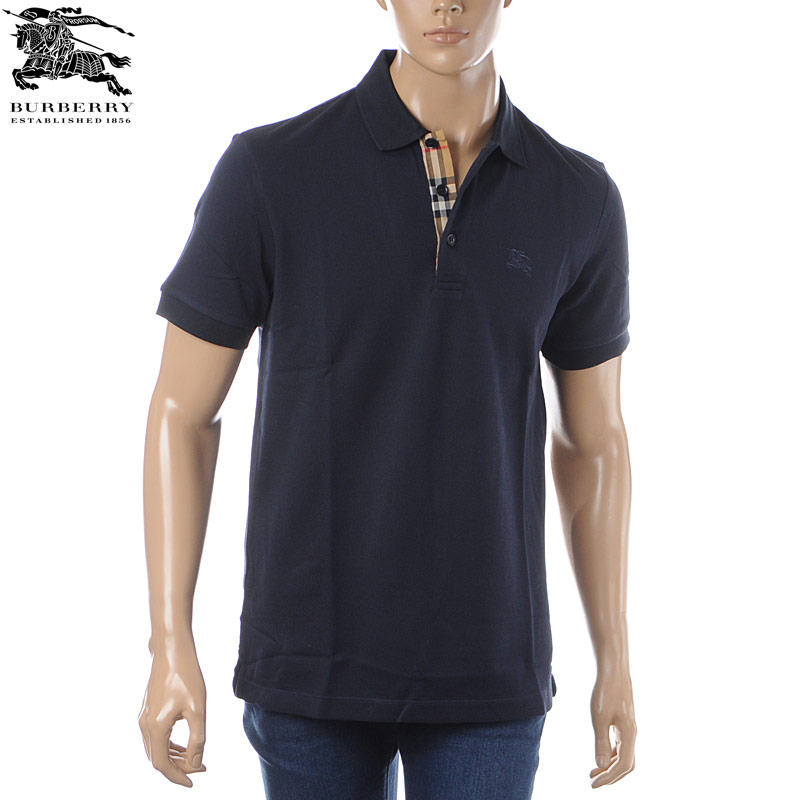perfect quality sneakers online 8000917 Burberry BURBERRY polo shirt short sleeves men navies