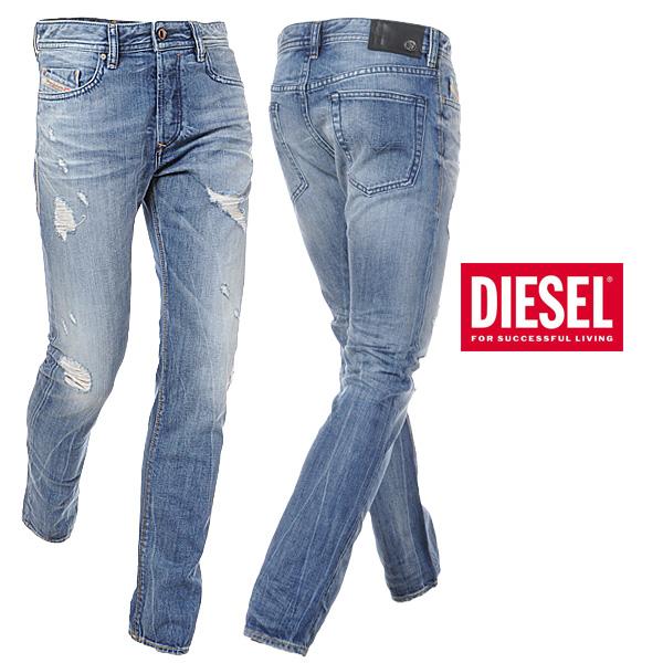 ディーゼル DIESEL メンズジーンズ/デニム/BUSTER/L.32/ウォッシュドブルー/00SDHB-0831I