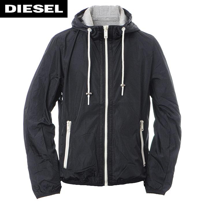 ディーゼル DIESEL ナイロンジャケット メンズ J-IRON 00SZDI-0LAPH ブラック