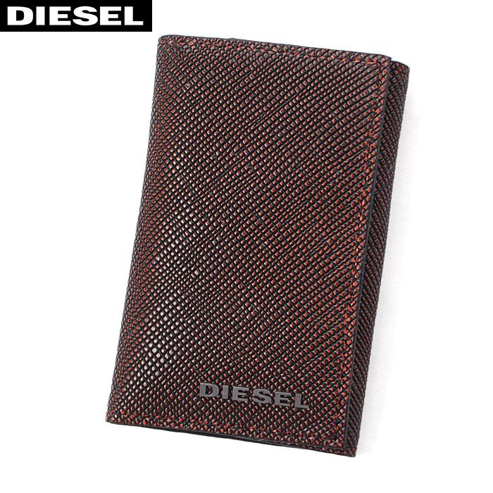 DIESEL ディーゼル レザーキーケース KAY CASE 0 X04745 P0517 ブラウン