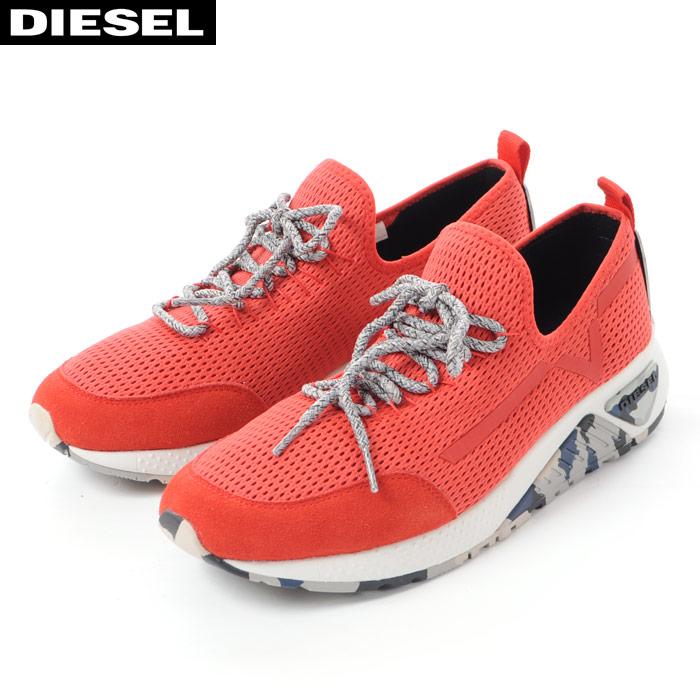 ディーゼル DIESEL スニーカー ローカット メンズ S-KBY Y01534 PR090 レッド