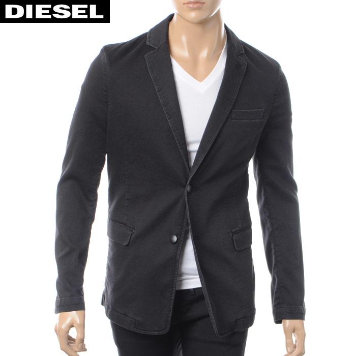 ディーゼル DIESEL テーラードジャケット メンズ NYACK-NE 00SWN6-0687Z ブラック 2018春夏セール