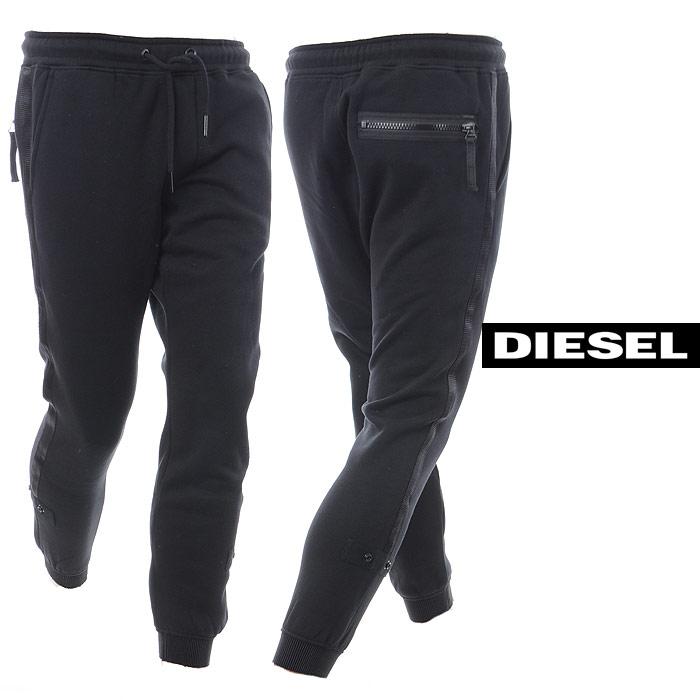 ディーゼル DIESEL スウェットパンツ メンズ P-SCRAM 00S12Y-0WAPH ブラック