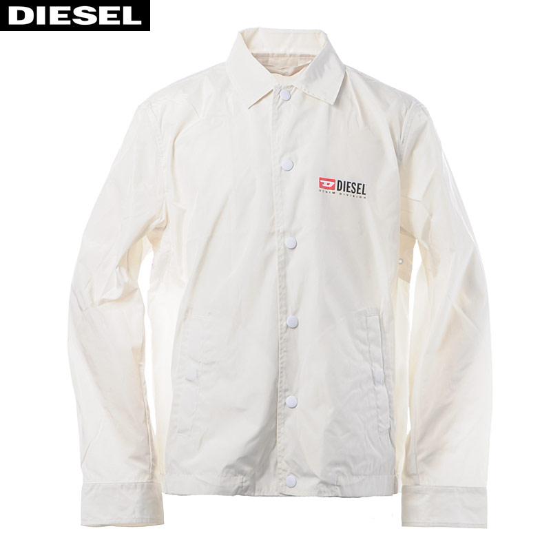 ディーゼル DIESEL ナイロンジャケット メンズ アウター J-ROMAN-P 00SV75-0WATH ホワイト