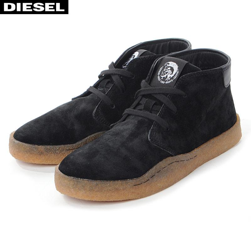 ディーゼル DIESEL デザートブーツ ショート メンズ H-CLEVER PAR DESERT Y02043 P2597 ブラック