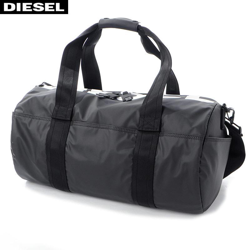 ディーゼル DIESEL ボストンバッグ ショルダーストラップ付き 2WAYバッグ F-BOLD DUFFLE X05477 P1705 ブラック