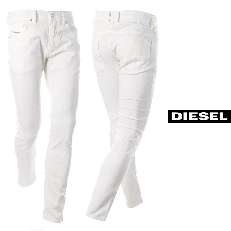 ディーゼル DIESEL ジーンズ デニム メンズ THOMMER-X 00SB6D-069JU ホワイト 2020春夏新作