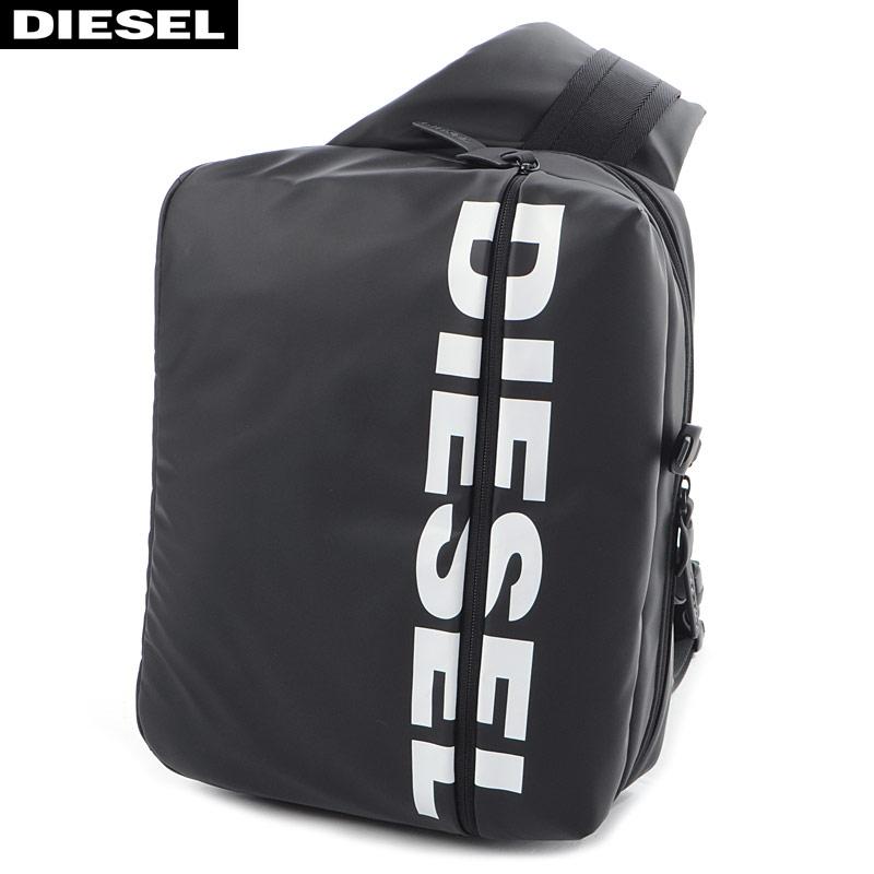 ディーゼル DIESEL ボディバッグ メンズ F-BOLD CROSS X05476 P1705 ブラック 2020春夏新作