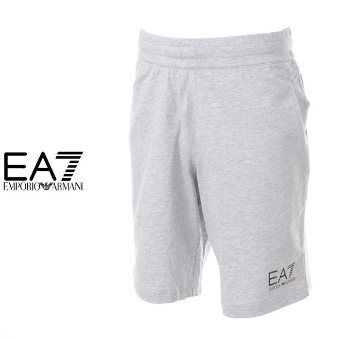 エンポリオアルマーニ EA7 EMPORIO ARMANI スウェットショートパンツ メンズ 3YPS59 PJ05Z グレー
