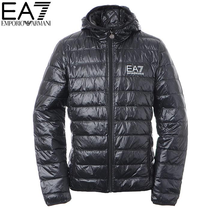 エンポリオアルマーニ EA7 EMPORIO ARMANI ダウンジャケット メンズ アウター ブルゾン 8NPB02 PN29Z ブラック