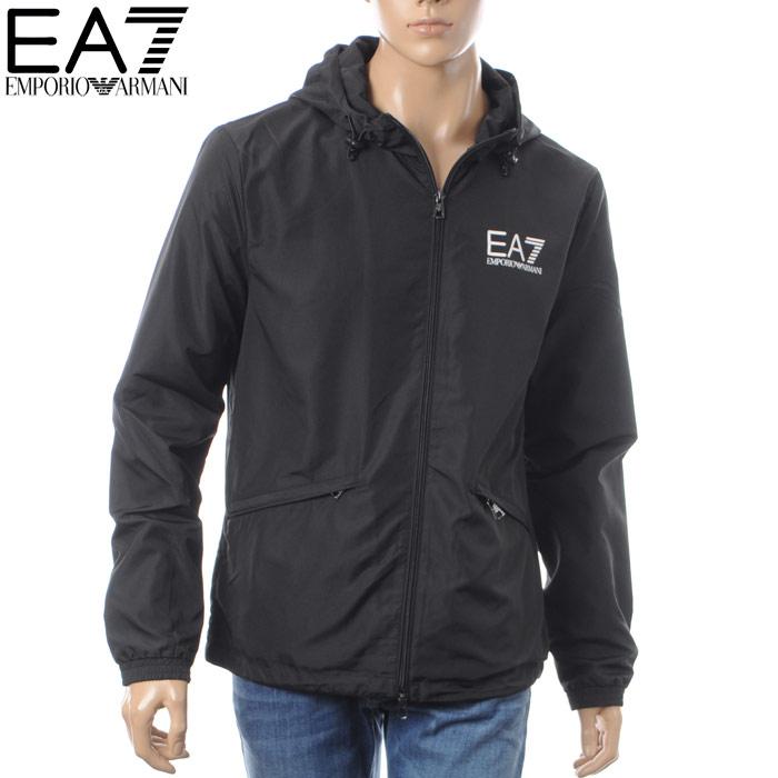エンポリオアルマーニ EA7 EMPORIO ARMANI ナイロンパーカー メンズ 3ZPB38 PN28Z ブラック