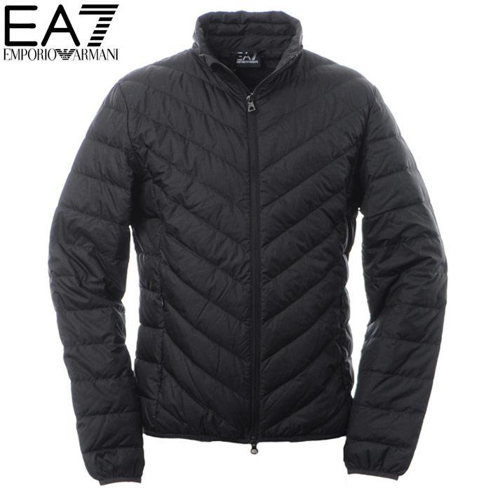 エンポリオアルマーニ EA7 EMPORIO ARMANI ダウンジャケット メンズ アウター ブルゾン 8NPB08 PNE1Z ブラック