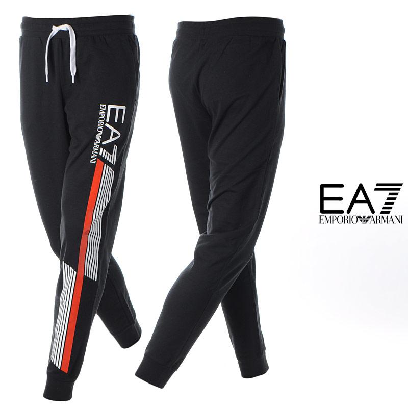 エンポリオアルマーニ EA7 EMPORIO ARMANI スウェットパンツ メンズ 3HPP71 PJ05Z ブラック 2020春夏新作