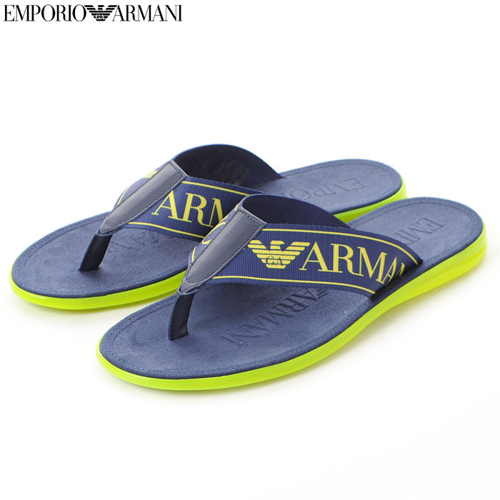エンポリオアルマーニ EMPORIO ARMANI トングサンダル メンズ X4P002 XAL73 ネイビー
